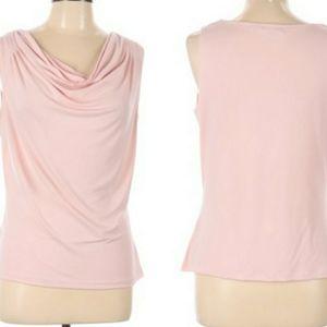 🎄Calvin Klein Sleeveless Top Pastel Pink Large